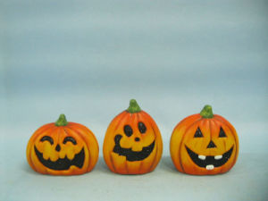 Halloween Pumpkin Ceramic Arts and Crafts (LOE2375-A7) pictures & photos