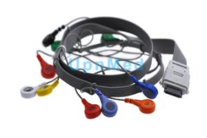 Edan Holter ECG 10 Lead Wires Set pictures & photos