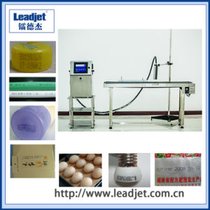 Leadjet Indistrial Printer Expiry Date Inkjet Printing Machine for Bottle Code pictures & photos