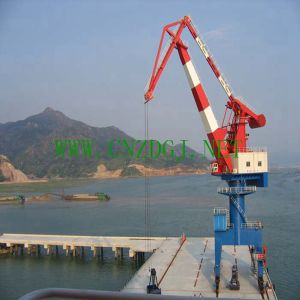Harbor Single Girder Jib Portal Crane pictures & photos