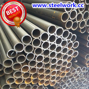 ERW Welded Annaeling Black Round Steel Tube pictures & photos