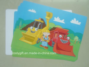 Hot Sale Cartoon Printed PP / PVC Placemat Plastic PP Table Mat pictures & photos