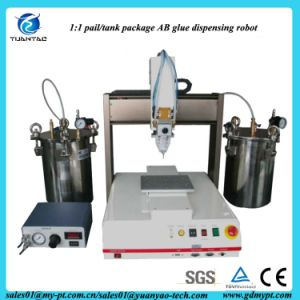 Benchtop Pail Package Double Component Automatic Filling Robot pictures & photos