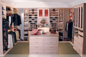 Hot Sale Bed Furniture Wooden Wardrobe pictures & photos