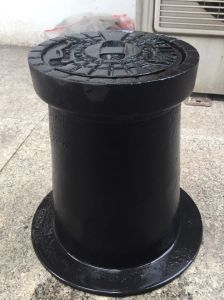152mm Round to 432mm X 762mm Rectangle Ductile Cast Iron Water Meter Box pictures & photos