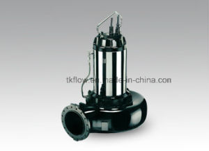 Electric No-Clog Submersible Sewage Water Pump for Waste Water pictures & photos