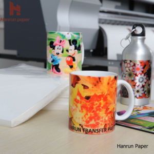 A4, A3 Sheet Sublimation Heat Transfer Paper for Mug, Metal, Glass, Hard Surface pictures & photos