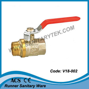 Forged Brass Ball Valve (V18-002) pictures & photos
