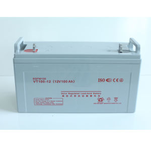 12V200ah Rechargeable Solar Power Battery for Solar System pictures & photos