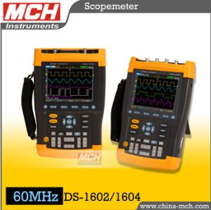 Electronic 60MHz Dual Channels 2GS/s Handed Digital Oscilloscope