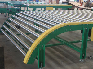 New Type Sprocket Roller Conveyor pictures & photos