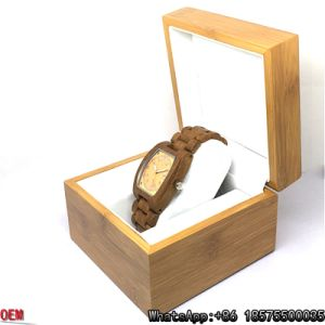 Top-Quality Teak-Wooden Watch Quartz Watch Hl16 pictures & photos