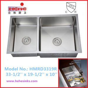 Stainless Steel Handmade Sink, Handcraft Sink, Kitchen Sink, Wash Sink (HMRD3319R) pictures & photos