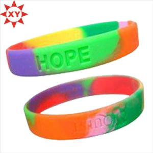 Bottle Price Thick Silicone Bracelet for Summer Camp (XY-MXL73004) pictures & photos