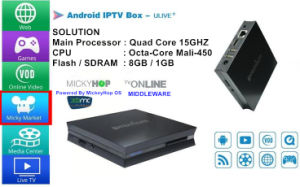 Wonderful Digital Android TV Box Ulive+ with Claro TV, Vivo, Hbo, Sportv, Globo TV pictures & photos