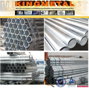 Carbon Steel G. I Pipe Round Galvanized Steel Pipe pictures & photos