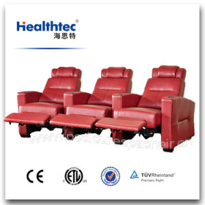 Portable Electric Real Leather Cinema Chair Used (T016) pictures & photos