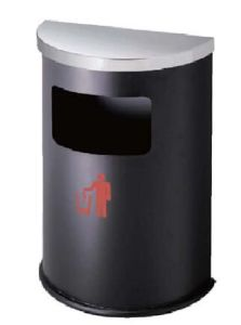 Stainless Steel Ground Ash Barrel Dustbin (YH-91) pictures & photos