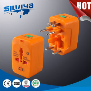 Orange Color Travel Adapter Plug/International Plug/Universal Plug pictures & photos