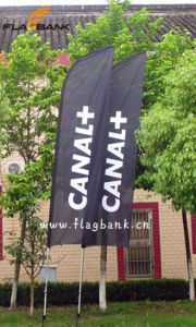 Outdoor Customized Polyester Feather Flag/Beach Flag pictures & photos