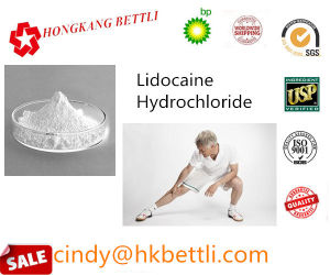 99% Local Anesthetic Drug Lidocaine Hydrochloride CAS: 73-78-9 pictures & photos
