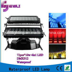 Waterproof RGBW 4in1 72PCS *10 LED Double City Color Light pictures & photos