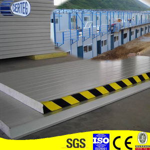 Insulation Steel Rock Wool Sandwich Panel for Wall pictures & photos