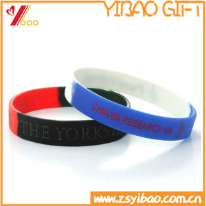 Customized Printed Logo PVC Slap Wristband for Gifts (YB-SM-02) pictures & photos