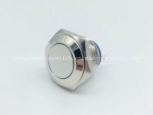 16mm Flat Momentary 2 Pin Switch Pushbutton pictures & photos