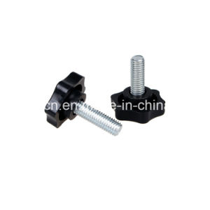 Door and Window Hardware Plastic Handle / Injection Mould ABS Knob with Bolt for Furniture pictures & photos