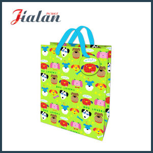 Dog Printed Gift Bag with Matte Laminated pictures & photos