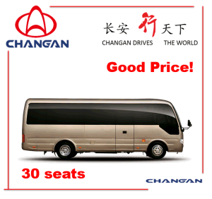 24-30 Seats Changan Bus Midibus Toyota Coaster Rhd Available pictures & photos