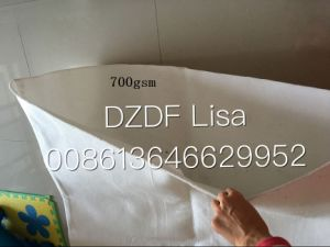 Non Woven Geobag Ecological Bag White0105, Qualified Material Suppliers of Water Cube Nest and South-to-North Water Transfer Project.