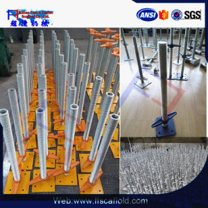 Adjustable Scaffold Base Plate (FF-B005A) pictures & photos