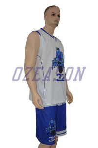 Ozeason Wholesale Blank Basketball Uniforms pictures & photos
