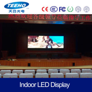 High Quality Display Screen P7.62 Indoor LED Video Wall pictures & photos