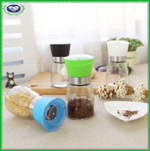 High Grips Glass Salt and Pepper Grinder