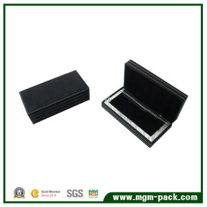 Simple Design Leather Wrapping Wooden Pen Packaging Box pictures & photos