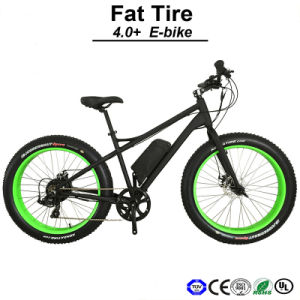 High Speed Fat Tire Electric Scooter E Bike Electric Bicycle E-Bicycle Electric Bike (TDE12Z) pictures & photos