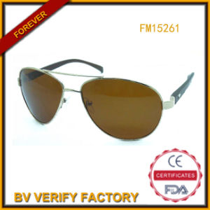 FM15261 Trade Assurance, Brown Lens Metal Sunglasses pictures & photos