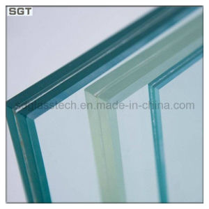 15mm Low Iron/Ultra Clear/Super White Laminated Glass pictures & photos