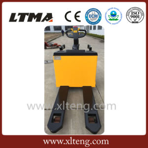 Ce Approval 2.5 Ton Full Electric Pallet Truck pictures & photos