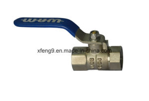 Dn15pn35 Female Brass Ball Valve pictures & photos