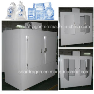 2.5m High Freezing Bagged Ice Storage Bin for Outdoor Usage pictures & photos