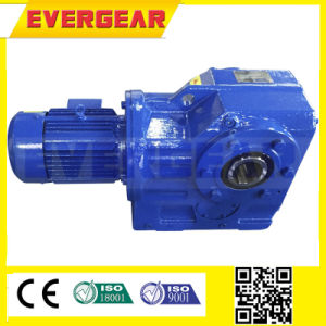 K Right Angle 90 Degree Helical Bevel Gearbox pictures & photos
