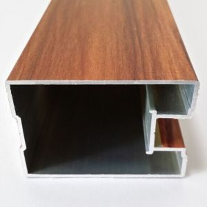 Aluminium Extrusion Frame Profiles for Doors and Windows (A0111) pictures & photos