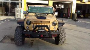 Specter Mask Grille for Jeep Wrangler Jk Sahara Rubicon pictures & photos