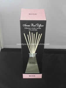 Rose Aroma Reed Diffuser in Glass Bottle