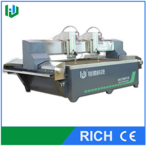 Water Jet Metal Work Cutting Machine with Double Head pictures & photos