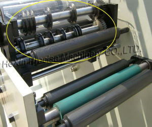 Insulation Paper Pet Film Woven Label Rotary Die Cutting Machiine pictures & photos